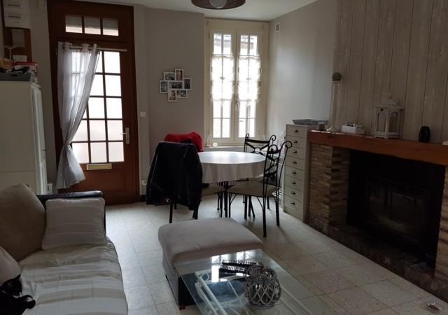 Maison 4 chambres à louer centre ville de Eu