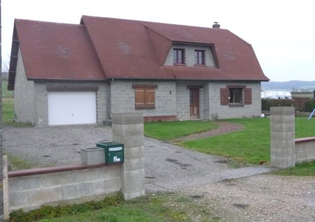 Pavillon individuel proche Blangy sur Bresle