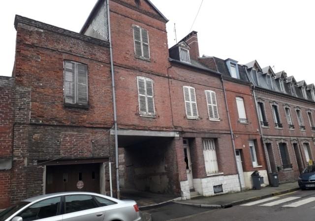 Maison à rénover centre ville de Eu