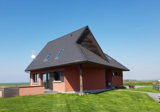 Maison d'architecte avec vue panoramique.