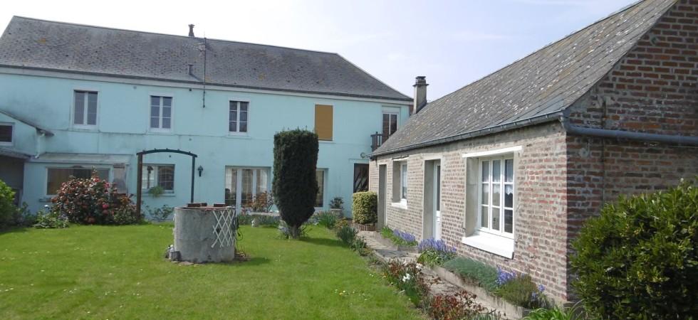 Grande maison avec gite, garage et jardin à Cayeux sur Mer