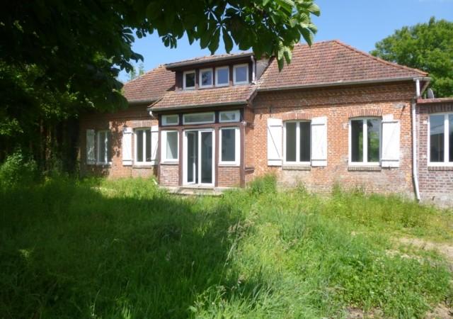 Jolie maison en briques a la campagne secteur Blangy Sur Bresle