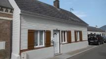 Maison centre Gamaches avec cour à louer
