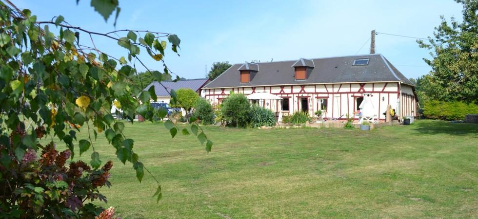 Maison longère – 7 pièces – 167 m²          Secteur Luneray