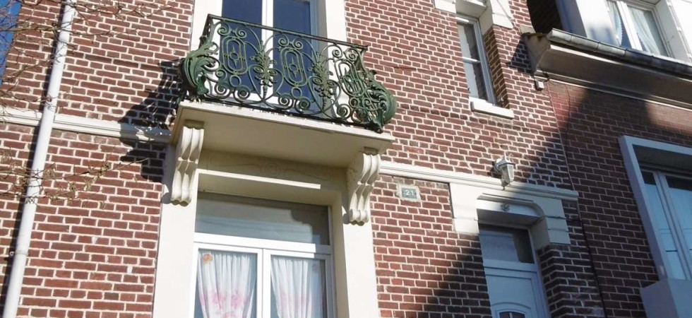 Maison 3 chambres avec jardin à vendre centre Ville de Eu