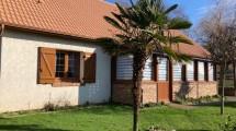 Beau Pavillon de Plain pied a vendre idéalement situé entre Friville et Cayeux sur Mer